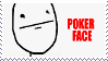 Poker Face STAMP by lonewined
