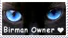 Birman Owner STAMP by lonewined