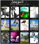 2015 Summary of Art by seagaull