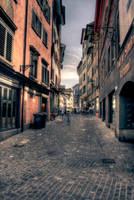 Narrow Streets of Cobblestone by Picturs-Of-Me