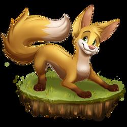 Fox Redraw by Brontonia