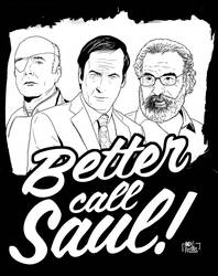 Better Call Saul #WIP by yescabrita