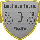 Emoticon Tournament Finalist Badge by IceXDragon