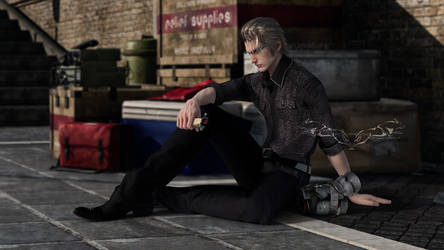 Rest up, Ignis by NightysWolf