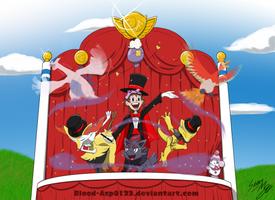 Commission: Pokemon Magic Show by Blood-Asp0123