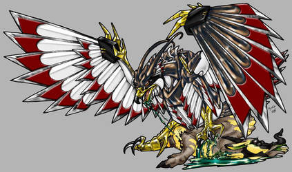 Dissever, Eagle Mode Colored by Heatherbeast