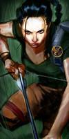 Katniss Everdeen by pungang