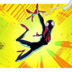 Spider-man Miles Morales by pungang