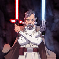 Luke Skywalker by pungang