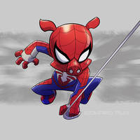 Spider-Ham by pungang