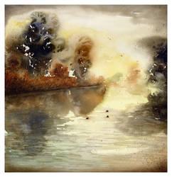 Riflessi sul fiume by iribilla