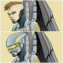 Talon OC sketch by MrFishLee