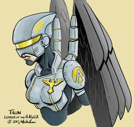 Talon with helmet by MrFishLee