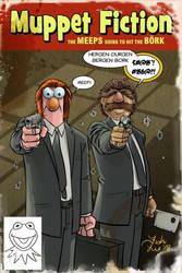 Muppet Fiction by MrFishLee