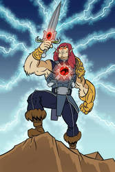 He-Cat and the Thundercats of the Universe! by MrFishLee