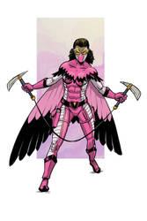 flamingo OC costume redesign  by MrFishLee
