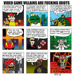 VG Villains are F-cking Idiots by ronnieraccoon