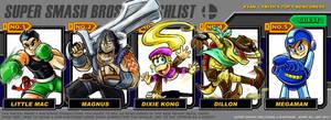 Super Smash Bros. 4 Wishlist by ronnieraccoon