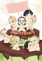 For my birthday by levineh