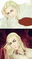 Thranduil Legolas 2 by levineh