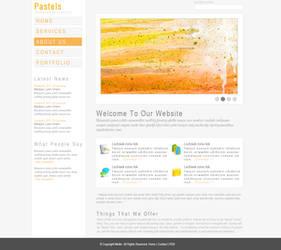 Pastels - WP Theme by Meilin-San