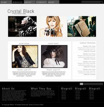 Crystal Black - WP Theme by Meilin-San
