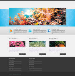 Corals - WP Theme by Meilin-San