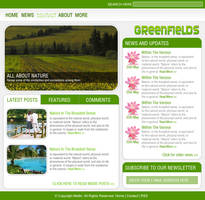 Greenfields - WP Theme by Meilin-San