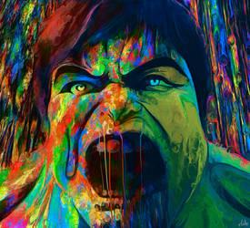 The Incredible Hulk by NickyBarkla