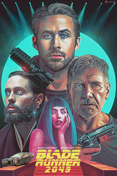 Blade Runner 2049 Poster for Warner Brothers by NickyBarkla