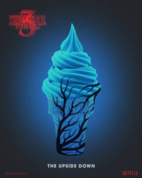 Stranger Things 3 | The Upside Down Ice Cream by NickyBarkla