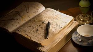 the book by april-neko