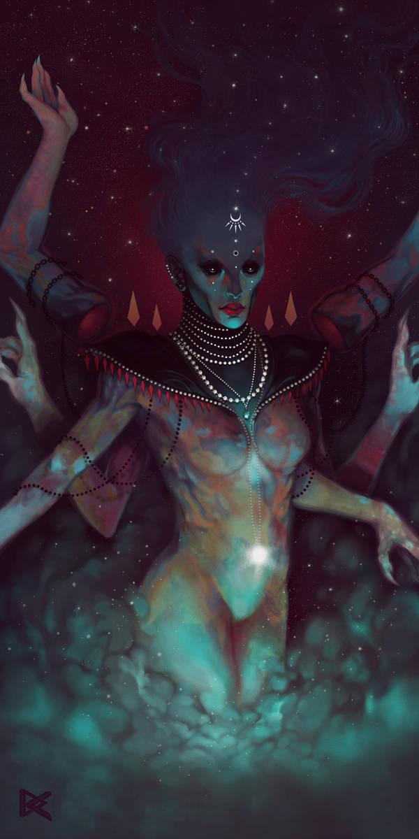 Celestial Goddess by DennyKotian