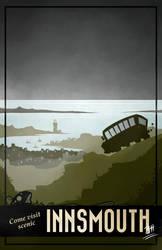 Innsmouth Travel Poster by the-art-of-B