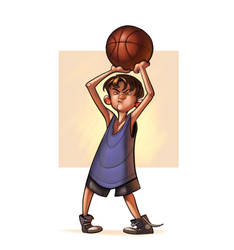 2 - Basketball by the-art-of-B