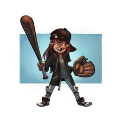 3 - Baseball by the-art-of-B