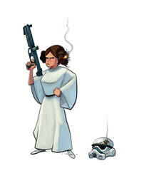 Leia by the-art-of-B