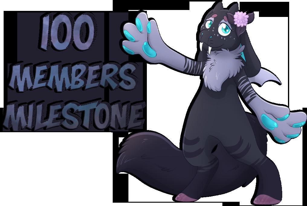 [Arcadia] - 100 Members Milestone by PatiLee