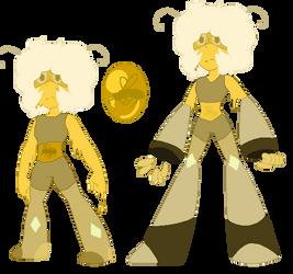 Steven Universe Amber Oc by redpandagirl15281