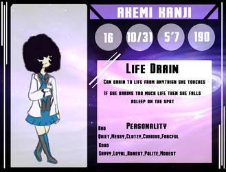 Akemi Kanji by redpandagirl15281