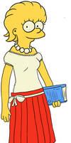 Older Lisa Simpson by HemmerBlob