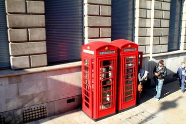 Telephone Box by kaelaspaz