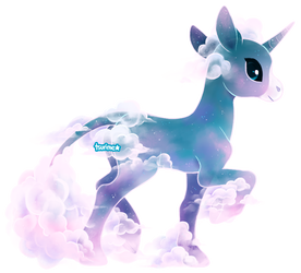 (commission) spectral unicorn by tsurime