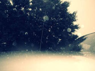 Blue Rain by VampyprincessRDEB