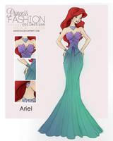 Princess Fashion Collection - Ariel by HigSousa