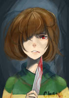 Chara by handsomeguyever