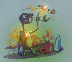 E.T. by jwebsterart
