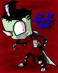 Zim The Homicidal Maniac by InsanelyADD