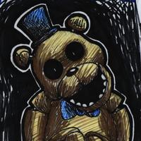 Day 16: Golden Freddy by InsanelyADD