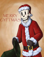 King Santa Papyrus by InsanelyADD